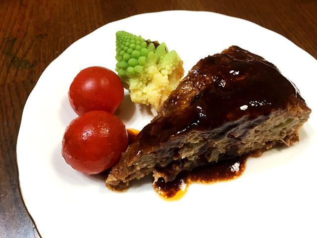 ハンバーグケーキ1